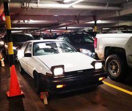 1985 AE86 TOYOTA COROLLA GTS COUPE