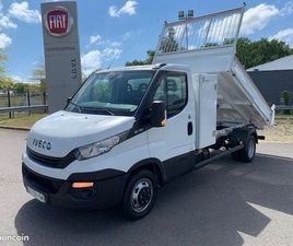 IVECO DAILY / 35-160 / BENNE & COFFRE NEUF / 2018 / 35C16 / 160 CH /