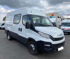 IVECO 35C14V12 - FOURGON 7 PLACES - 2019 - FAIBLE KM