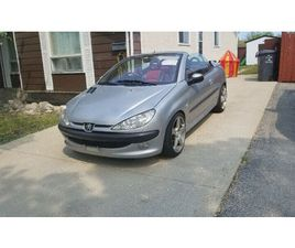 CONVERTIBLE - 2001 PEUGEOT 206 CC | CARS & TRUCKS | WINNIPEG | KIJIJI