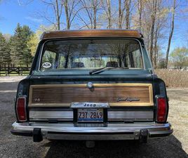 1991 JEEP GRAND WAGONEER FINAL YEAR PRODUCTION
