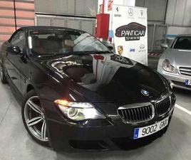 BMW M6 M6 CABRIO INDIVIDUAL HISTORIAL Y NACIONAL