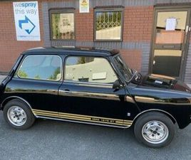 1980 AUSTIN MORRIS MINI CLUBMAN 1275 GT IN BLACK WITH LOW MILES TWO OWNER CAR