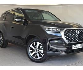 2021 SSANGYONG REXTON 2.2TD ULTIMATE (202PS) AUTO - £38,845
