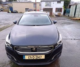171 PEUGEOT 508 SW ALLURE 1.6 NAVY BLUE HDI 120 FOR SALE IN DUBLIN FOR €12,000 ON DONEDEAL