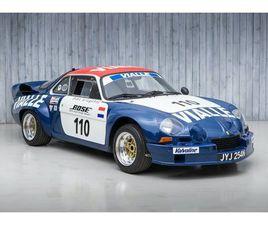 1974 ALPINE A110 - B - RENAULT GORDINI 1800 16 VALVE. WINNER OF EUROPEAN RALLYCROSS ROUNDS