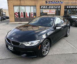2017 BMW 4 SERIES 4DR SDN 430I XDRIVE AWD GRAN COUPE*-MSPORT 1   CARS & TRUCKS   CITY OF T
