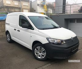 VW CADDY CARGO BLANC D'OCCASION, MOTEUR DIESEL ET BOITE MANUELLE, 5 KM - 18.400 € | LUXAUT
