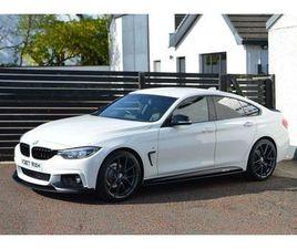 BMW 4 SERIES 2.0 420D M SPORT GRAN COUPE 4D 188 BHP 6 MONTHS RAC WARRANTY FREE + 12 MONT