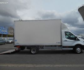 FORD TRANSIT TREND P350 L4 2.0 TDCI 170CH CAISSE 20M3 + HAYON - 50666 KM - 20990 HT (25188