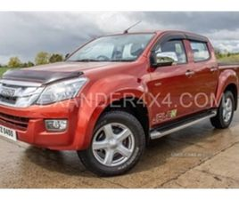 USED 2015 ISUZU D-MAX YUKON TWIN TURBO D/ NOT SPECIFIED 69,820 MILES IN RED FOR SALE | CAR