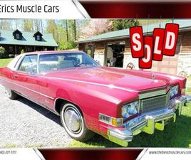 FOR SALE: 1974 CADILLAC ELDORADO IN CLARKSBURG, MARYLAND