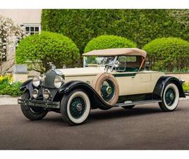 1929 PACKARD 640 CUSTOM EIGHT ROADSTER