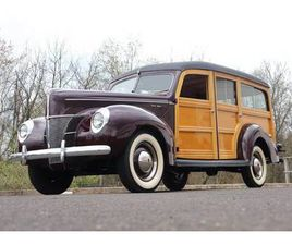 1940 FORD DELUXE WOODIE WAGON