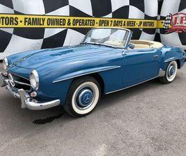 1960 MERCEDES-BENZ 190SL CONVERTIBLE | CARS & TRUCKS | OAKVILLE / HALTON REGION | KIJIJI