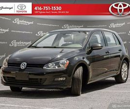 2016 VOLKSWAGEN GOLF TSI HIGHLINE   0 ACCIDENTS   LEATHER   LOW KM   CARS & TRUCKS   CITY