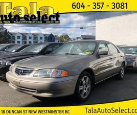 2000 MAZDA 626 LX AUTOMATIC A/C LOCAL BC 126,000KM