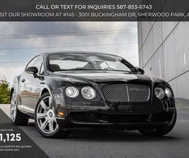 2007 BENTLEY CONTINENTAL GT | CARS & TRUCKS | STRATHCONA COUNTY | KIJIJI