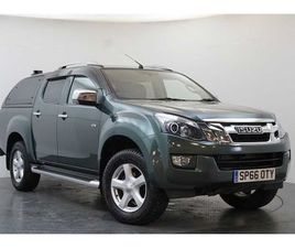 ISUZU D-MAX 2.5TD 4WD UTAH VISION DOUBLE CAB PICKUP WITH CANOPY AND TOWBAR