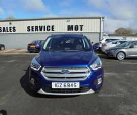 USED 2018 FORD KUGA TITANIUM TDCI NOT SPECIFIED 26,000 MILES IN BLUE FOR SALE | CARSITE