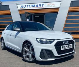 2019 AUDI A1 2.0 40 TFSI S LINE COMPETITION - £19,965