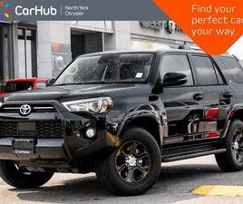 USED 2020 TOYOTA 4RUNNER 4WD SR5 HEATED SEATS SUNROOF ACTIVE DRIVER ASSISTS