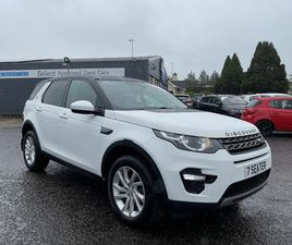 2016 LAND ROVER DISCOVERY SPORT 2.0TD4 SE TECH (180PS) (S/S) AUTO - £19,995