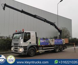 IVECO AT260S35 STRALIS HIAB XS122-3 6X2*4