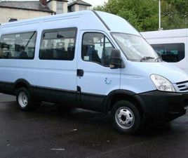 IVECO DAILY 13 SEAT WHEELCHAIR ACCESSIBLE DISABLED MINIBUS LOW MILES NO VAT 2008