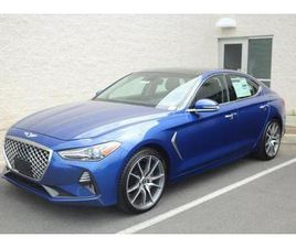 BRAND NEW BLUE COLOR 2019 GENESIS G70 ADVANCED FOR SALE IN CHANTILLY, VA 20151. VIN IS KMT