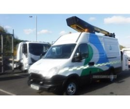 USED 2014 IVECO DAILY 50C15 NOT SPECIFIED 76,302 MILES IN WHITE FOR SALE | CARSITE
