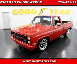 1987 CHEVROLET C10 FOR SALE