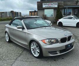 2008 BMW 1 SERIES 128I/CABRIO | CARS & TRUCKS | LÉVIS | KIJIJI