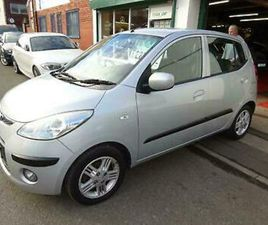 HYUNDAI I10 1.2 ( COMFORT 2008, 2 OWNERS 48,500 MILES,M.O.T FEB 2022,£30 TAX