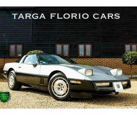 1986 CHEVROLET CORVETTE C4 TARGA 1986 5.7L V8 MANUAL COUPE PETROL MANUAL