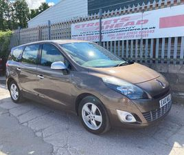 2010 RENAULT GRAND SCENIC 1.5TD DYNAMIQUE TOM TOM 1.5DCI (106BHP) - £2,995