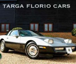 C4 TARGA 1986 5.7L V8 MANUAL 2-DOOR