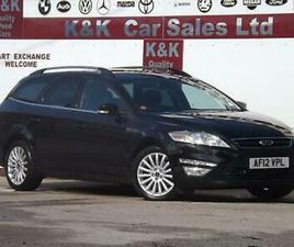 FORD MONDEO 1.6 TDCI ECO ZETEC BUSINESS EDITION 5D (SS)(FULL HISTORY+MOT 23/3/22