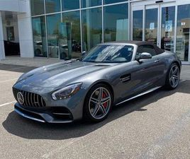 USED 2019 MERCEDES-BENZ AMG GT C, CONVERTIBLE, NAV, CAM, BLUETOOTH
