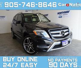 USED 2015 MERCEDES-BENZ GLK-CLASS GLK 250   DIESEL   4MATIC   LEATHER   ROOF   NAV