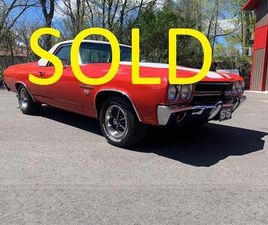 FOR SALE: 1970 CHEVROLET EL CAMINO IN ANNANDALE, MINNESOTA