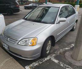 2001 HONDA CIVIC LX   CARS & TRUCKS   ST. CATHARINES   KIJIJI