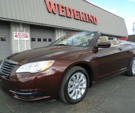 BROWN COLOR 2013 CHRYSLER 200 TOURING FOR SALE IN SCHENECTADY, NY 12304. VIN IS 1C3BCBEG2D