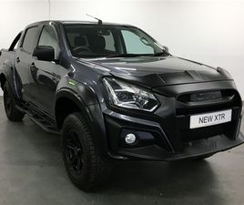 USED 2020 ISUZU D-MAX 1.9 XTR NAV+ DOUBLE CAB 4X4 NOT SPECIFIED 9,924 MILES IN GREY FOR SA