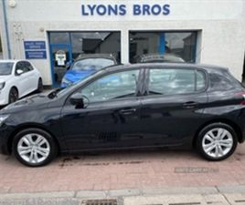 USED 2016 PEUGEOT 308 ACTIVE BLUE HDI S/S HATCHBACK 89,341 MILES IN BLACK FOR SALE | CARSI