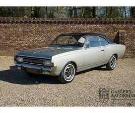 OPEL COMMODORE 2500 S COUPÉ DUTCH DELIVERED CAR, EARL