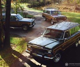 FOR SALE: 1984 JEEP GRAND WAGONEER IN BEMUS POINT, NEW YORK