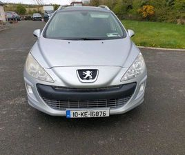 PEUGEOT 308 SW 1.6 DTI NCT 11/21 6 SPEED FOR SALE IN DUBLIN FOR €1,499 ON DONEDEAL