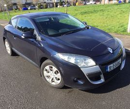 10 RENAULT MEGANE COUPE 1.5 FULL YEARS TAX/TEST FOR SALE IN LAOIS FOR €2,650 ON DONEDEAL