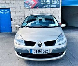 RENAULT SCENIC, 2009 DIESEL NCT 01/22 LOW TAX FOR SALE IN LOUTH FOR €1,650 ON DONEDEAL